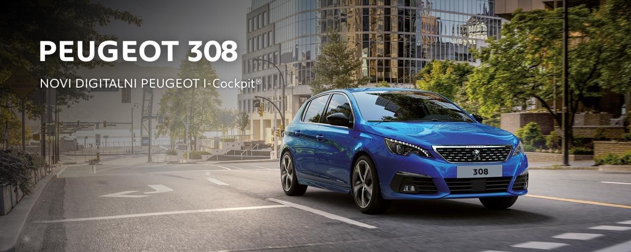prenovljeni Peugeot 308