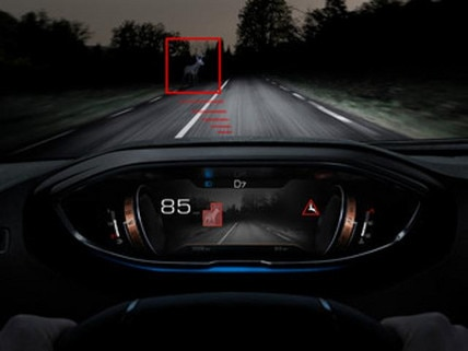 Peugeot 5008 night vision