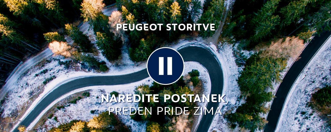 predzimski pregled Peugeot