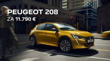 Peugeot 208 iskrica