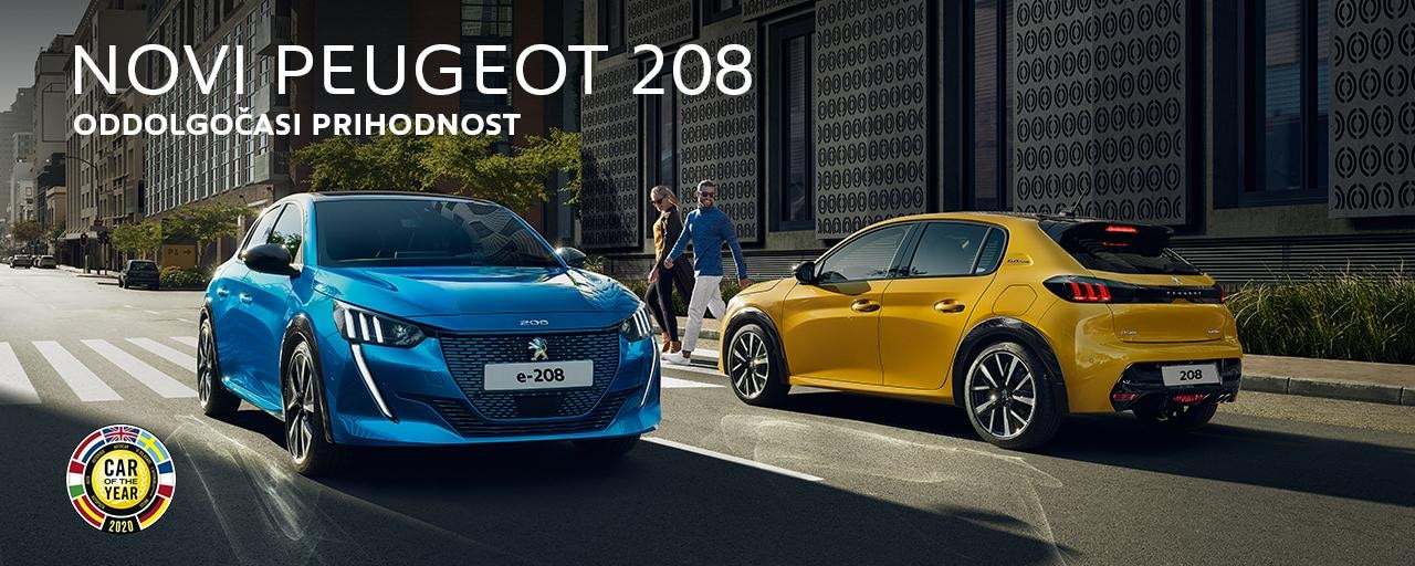 Novi Peugeot 208