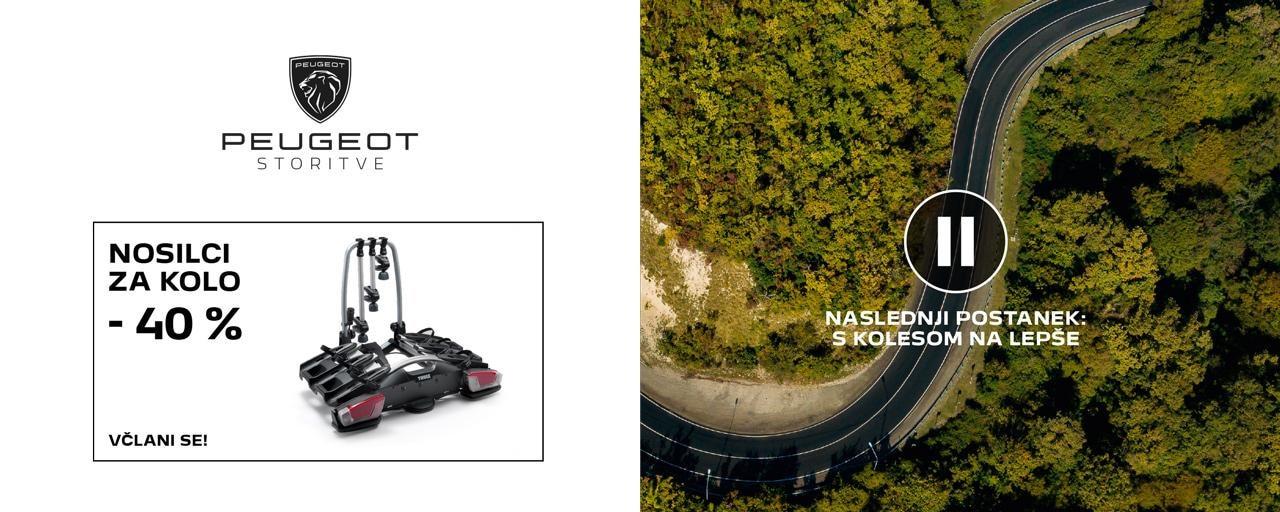 nosilci za kolo Peugeot