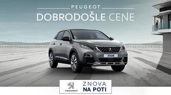 Dobrodosle cene Peugeot 3008