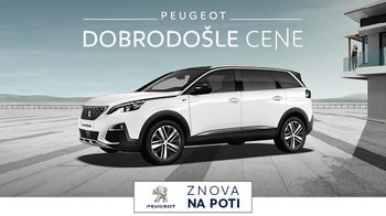Dobrodosle cene Peugeot 5008
