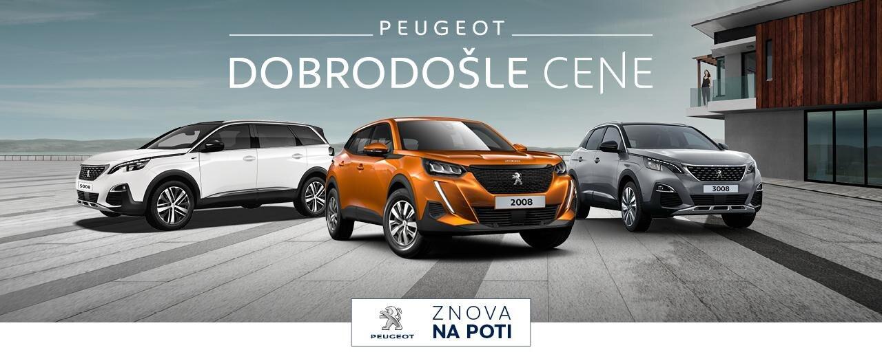 Dobrodosle cene Peugeot