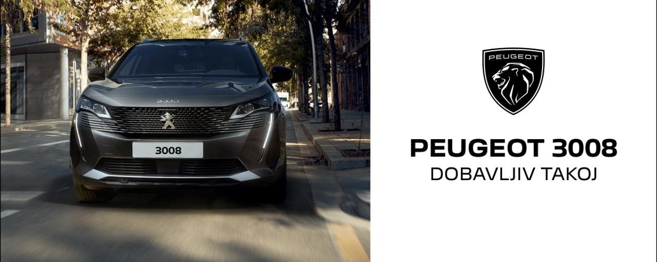 Peugeot 3008 zaloga