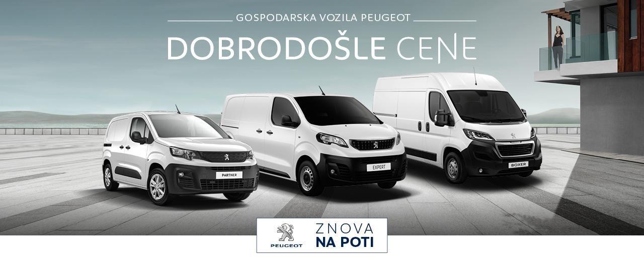 Akcija gospodarska vozila Peugeot