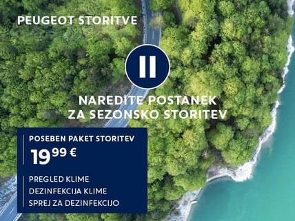 Pregled avtoklime Peugeot