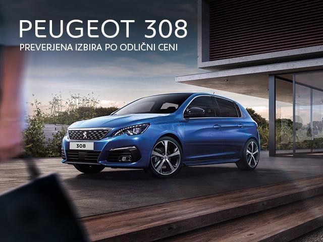 Peugeot 308 akcija